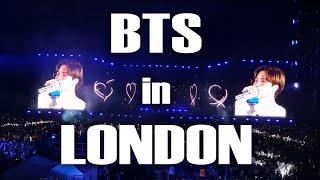 지리산 처자들,  방탄소년단ㅣBTS  런던 웸블리 공연에 가다! 생생현장 공개^^ 감동주의(BTS London wembley concert)-1편