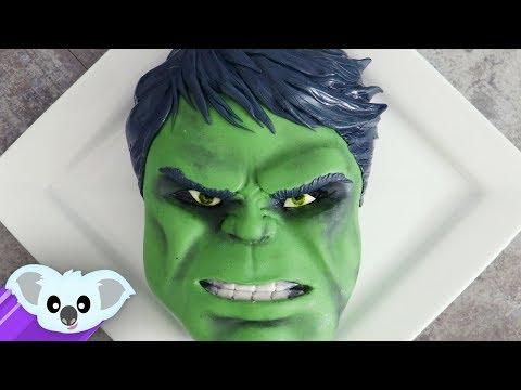 Hulk Cake!   Thor Ragnarok   DIY and How to