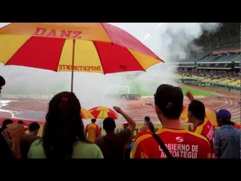 """Deportivo Anzoategui. Barra ""La Impertinente"" 06/05/2012"" Barra: La Impertinente • Club: Anzoátegui"