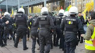 Poliisi käytti liikaa voimatoimia kurdien mielenosoituksessa?