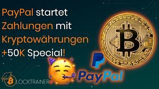Akzeptiert PayPal Bitcoin-Zahlungen