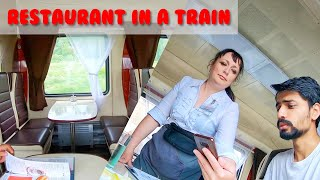 RESTAURANT CAR IN RUSSIAN TRAIN 🚂 - 2ND CLASS DELUXE JOURNEY