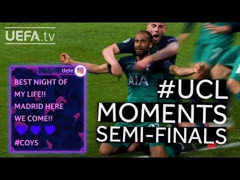 #UCL Semi-finals BEST MOMENTS: TOTTENHAM & LIVERPOOL make it to the final!!
