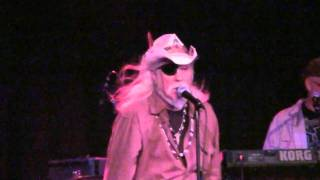 NYE 2010 With Ray Sawyer (Dr. Hook) Video 5 - I Got Stoned & Missed It