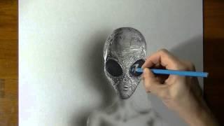 Очень круто рисует в 3D|# aliens is, they close, cool draws
