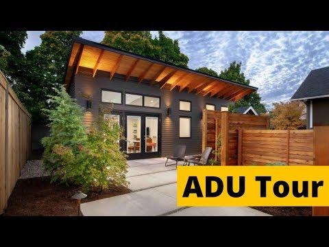 Granny Flat Home Tour   490 square foot ADU   Tiny Home Tour w/ Maxable