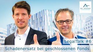 LegalTalk aus Düsseldorf # 6: Rückerstattung und Schadenersatz für Anleger?