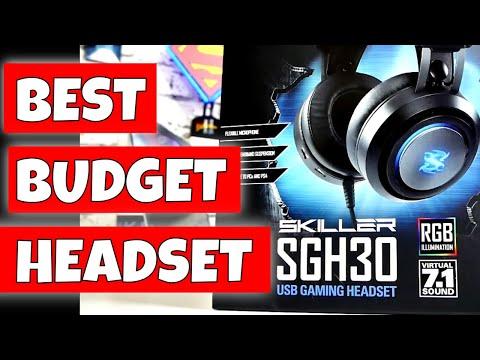 Sharkoon 7.1 RGB USB Gaming Headset Skiller SGH30 Is Surprisingly Good