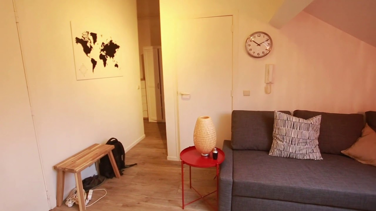 Charming 1-bedroom apartment for rent in Brussels City Center