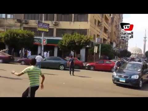 إشتباكات بين الأهالى والإخوان فى مصر الجديدة