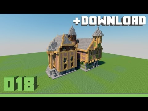 Combined timber frame house Minecraft Project