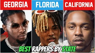 BEST RAPPER FROM EACH STATE!