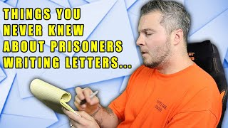 Prison Hacks For Writing Letters In Prison...