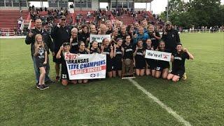 2017 7A Girls Soccer Championship Highlights