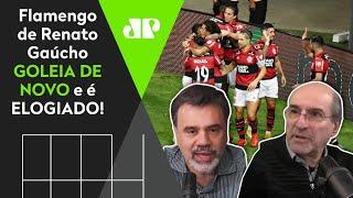 'Flamengo do Renato Gaúcho joga leve, bonito e alegre'; Mengão é elogiado após nova goleada