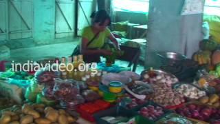 Thuampui Market, Mizoram