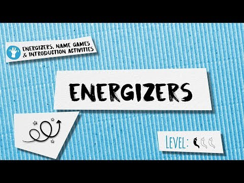 3 Energizers for Training Activities: Colour and Body Part, Scarf Run ...