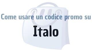 Come usare un codice promo su Italo