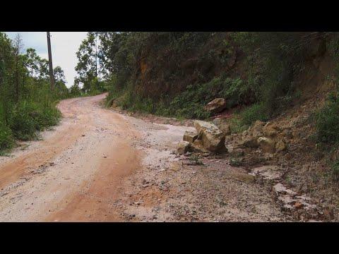 Macaé de Cima, em Nova Friburgo, sofre com as condições precárias das estradas