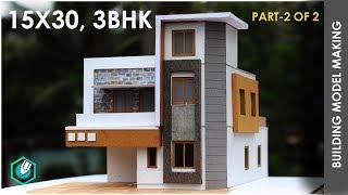 Part-2 | 15X30 MODERN BUILDING MODEL