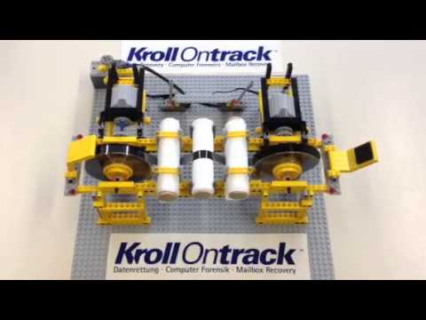 How To Use LEGO To Automate Data Recovery