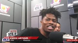 Kwesi Arthur Reveals Why He Used To Run Away From Church