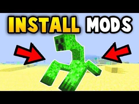MINECRAFT : How To Get MODS (Ps3/Xbox360/PE/Win10/PS4/XboxOne/WiiU/Switch)