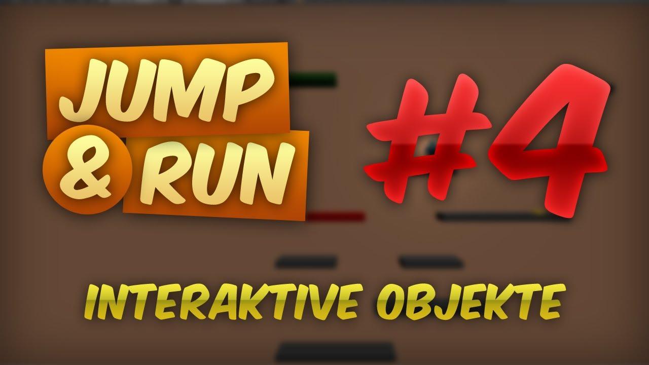 JUMP & RUN #4 - Interaktive Objekte | Tutorial Blender Game Engine [DEUTSCH] [HD]