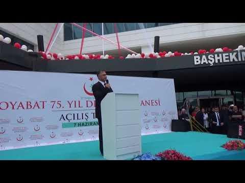 Video : Mahmut Coşkun - Sağlık Bakanı Ahmet Demircan Boyabat'ta