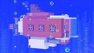 Как построить лодку в майне