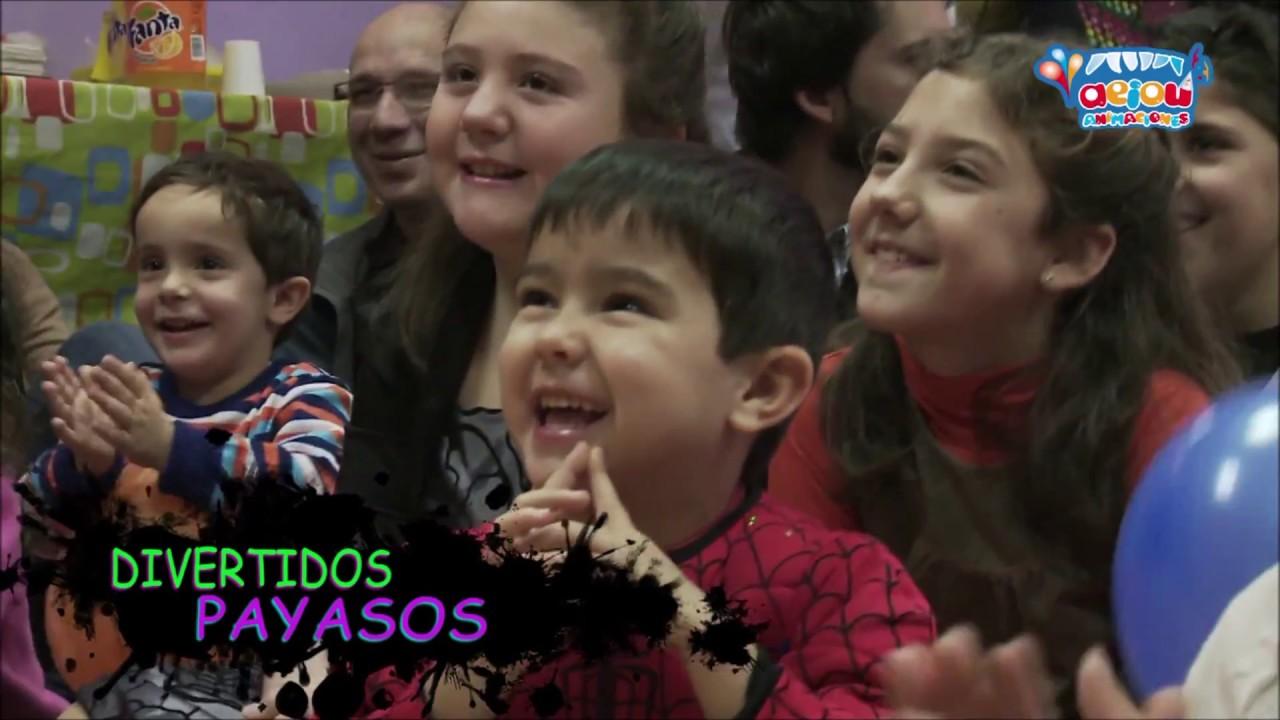 Animaciones de fiestas infantiles en Orense Lugo Pontevedra cumpleaños comuniones a domicilio