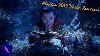 Aladdin (2019) Trailer Reaction! | In Theaters May 24th
