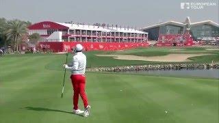 Rory McIlroy's Near Albatross In Abu Dhabi