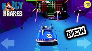 МАШИНКИ Faily Brakes #64 / НОВЫЕ ТАЧКИ и КАРТА в мультяшной ИГРЕ для детей / VIDEO FOR KIDS cars