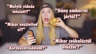 KÍNOS Kérdésekre Válaszolok & KFC Reggeli Menü Teszt