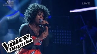 "Brenda sings ""Ojuelegba"" / Live Show / The Voice Nigeria 2016"