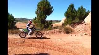 preview picture of video 'Un peu de trial ce 26 juin'