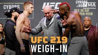 UFC 219 Ceremonial Weigh-Ins - MMA Fighting
