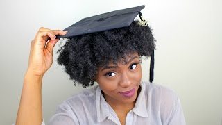 Graduates natural hair Have no fear Check out this graduation day hack