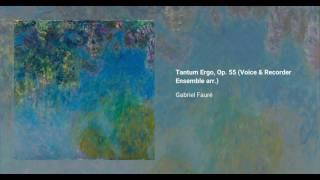 Tantum ergo, Op. 55