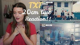 TXT(투모로우바이투게더) - 20cm // Welcome Back Show (REACTION!!)