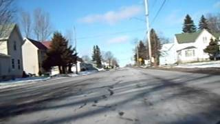 preview picture of video 'Driving from the Tractor Supply in Lowville, New York to the Lewis County General Hospital'