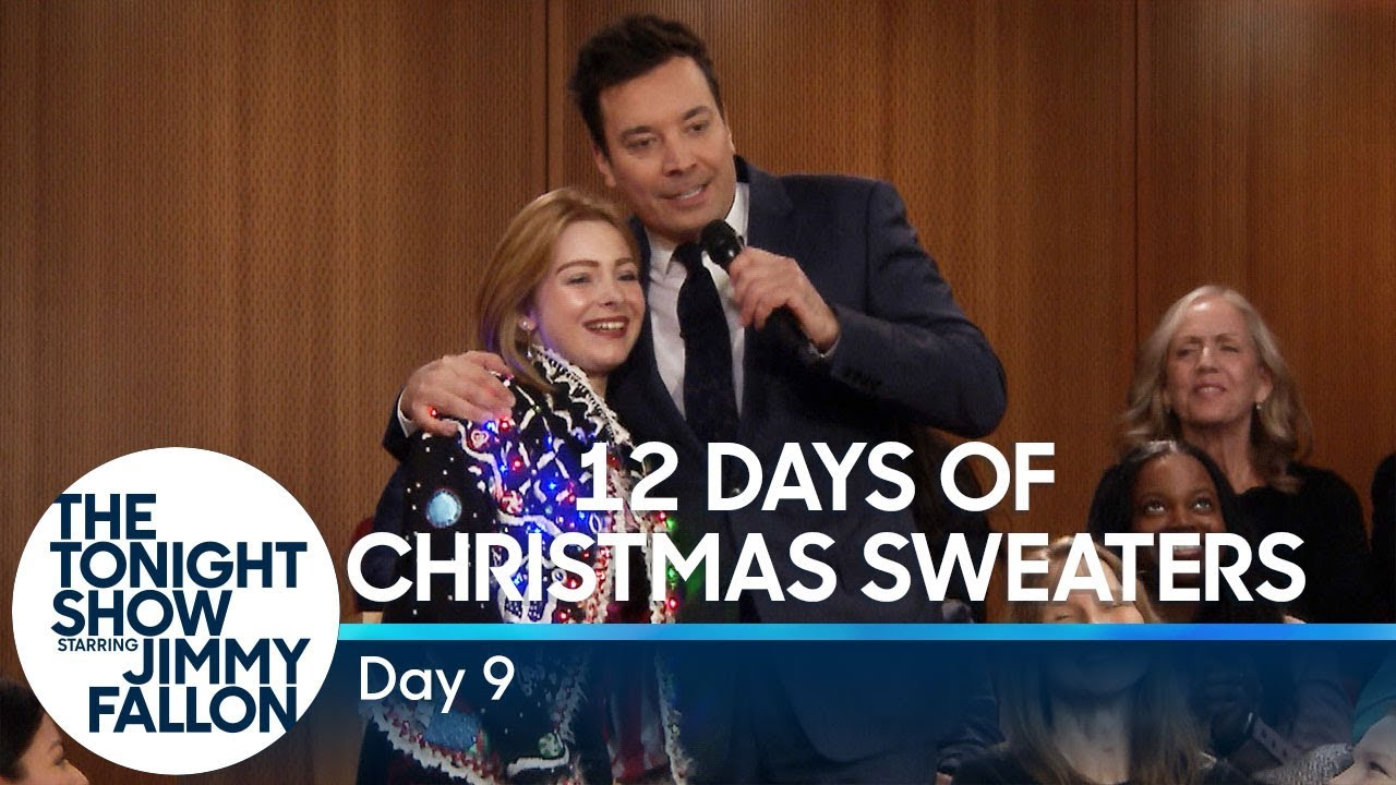 12 Days of Christmas Sweaters 2018: Day 9 thumbnail
