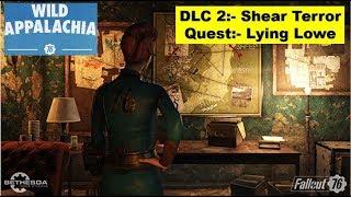 Fallout 76 Shear Terror DLC - Lying Lowe - Find all clues in Lowe Taxidermy