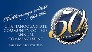 2016 Chattanooga State Community College Commencement