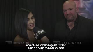 UFC 217: Entrevista nos bastidores com Dana White