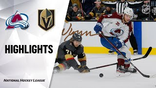 Avalanche @ Golden Knights
