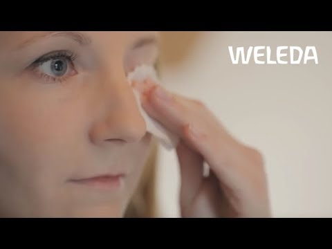 Weleda Tutorial: Eye Make-up Removal