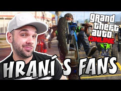 MOTORKÁŘSKÝ GANG v GTA V ONLINE! | Pedro