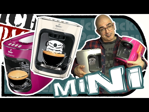 TCHiBO Cafissimo MiNi Kaffeekapselmaschine - Classy White + Wild Berry (Unboxing Test)